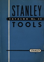 Stanley Tools Catalog No 34 Stanley Free Download