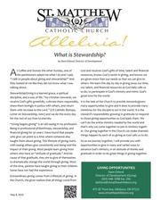 What is Stewardship 051116