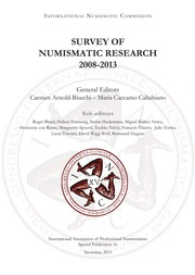 Survey Of Numismatic Research, 2008-2013