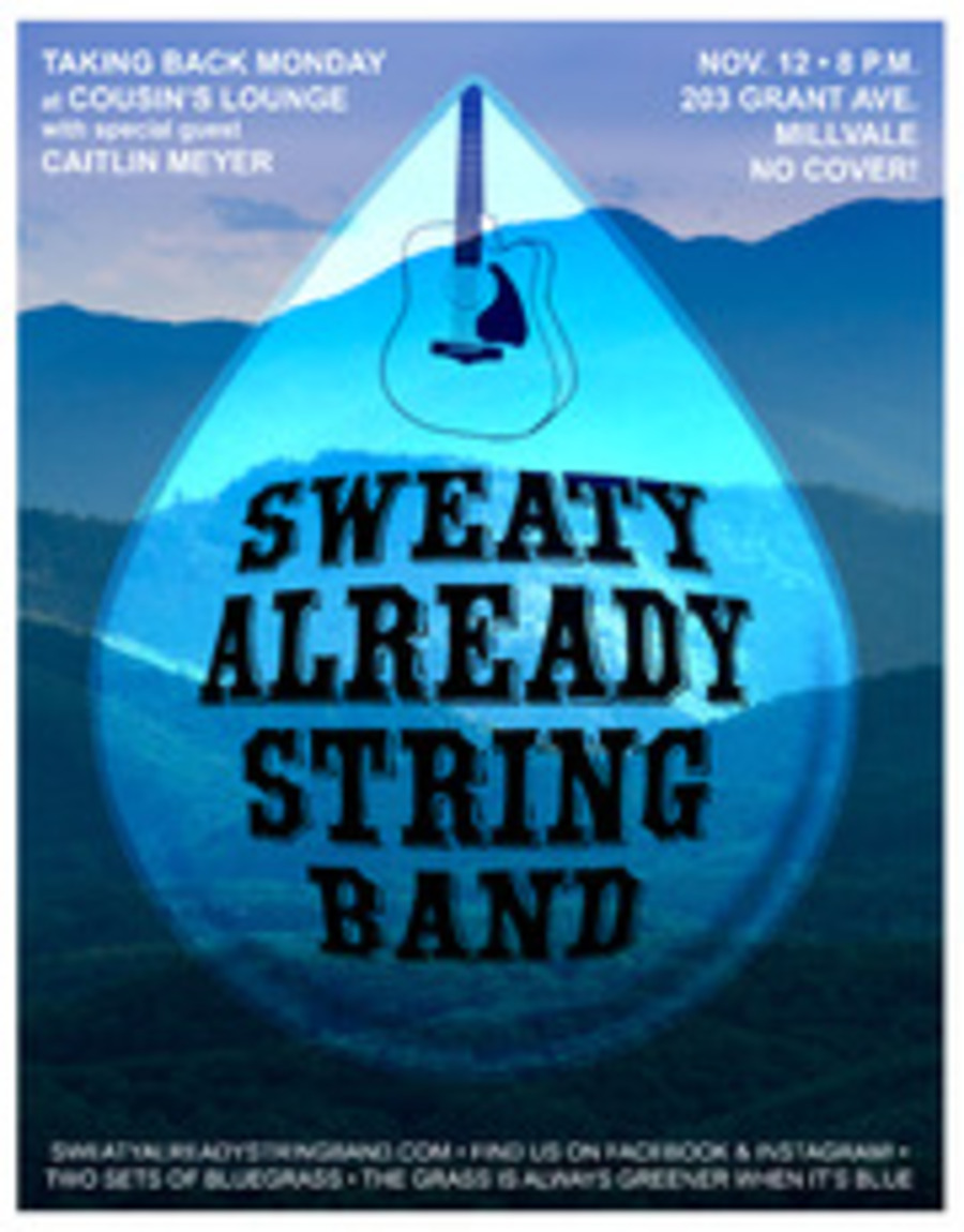 Sweaty Already String Band Live at Cousin's Lounge on 2018-11-12