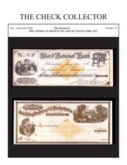 The Check Collector (no. 79)
