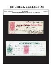 The Check Collector (no. 81)