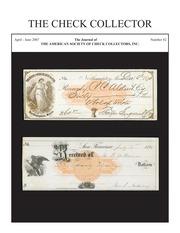 The Check Collector (no. 82)