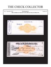 The Check Collector (no. 83)
