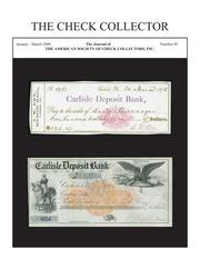 The Check Collector (no. 85)
