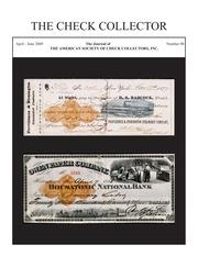 The Check Collector (no. 90)