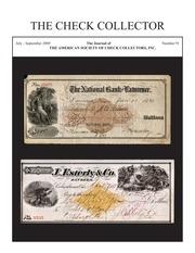 The Check Collector (no. 91)