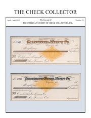The Check Collector (no. 94)