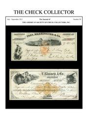The Check Collector (no. 99)