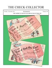The Check Collector (no. 100)