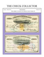The Check Collector (no. 101)