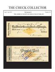 The Check Collector (no. 102)