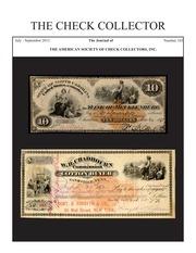 The Check Collector (no. 103)