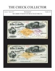 The Check Collector (no. 109)