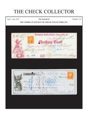The Check Collector (no. 110)