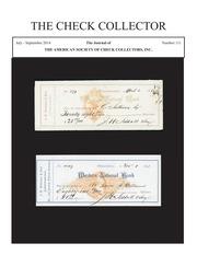 The Check Collector (no. 111)