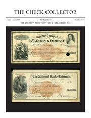 The Check Collector (no. 114)