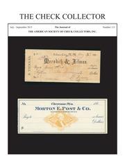 The Check Collector (no. 115)