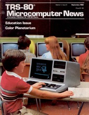 TRS-80 Microcomputer News - Volume 4 Issue 08 (1982-09