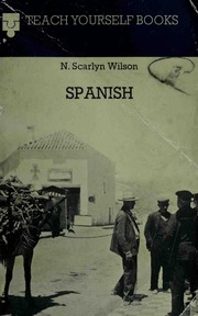 Teach Yourself Spanish : Free Download, Borrow, and Streaming