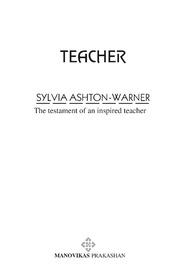 Spinster By Sylvia Ashton Warner
