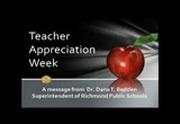 teacher appreciation message dr bedden free download borrow and