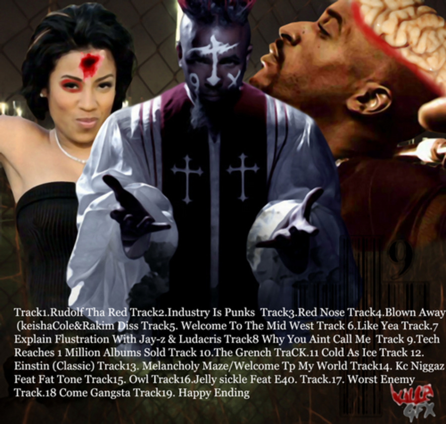 Tech N9ne - Red Nose The Mixtape-2009 : Free Download