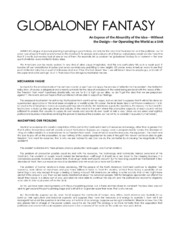 GLOBALONEY FANTASY - Wilton Ivie - February 1944