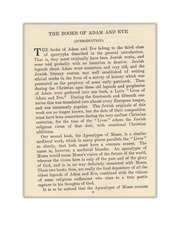The Books Of Adam And Eve Free Download Borrow And Streaming Internet Archive