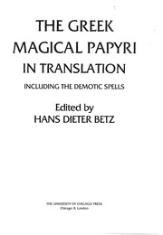 The greek magical papyri in translation free download borrow and the greek magical papyri in translation free download borrow and streaming internet archive fandeluxe Choice Image