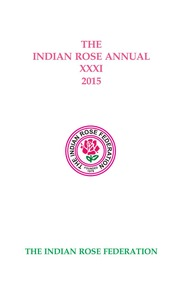 The Indian Rose Annual XXXI, 2015