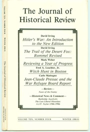 JHR Archive — The Journal of Historical Review — Article ...