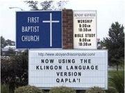 The Klingon Language Version of the World English Bible Psalms