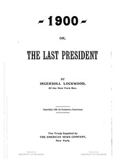1900 or the last president pdf free download