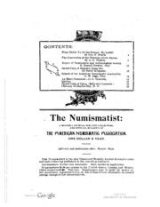 The Numismatist, Vol. 7 (1894)