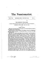 The Numismatist, Vol. 8 (1895)
