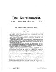 The Numismatist, Vol. 14 (1901)