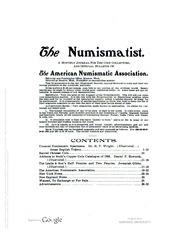The Numismatist, Vol. 16 (1903)