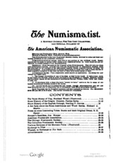 The Numismatist, Vol. 19 (1906)