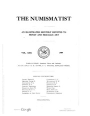 The Numismatist, Vol. 22 (1909)