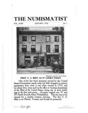 The Numismatist, Vol. 23 (1910)