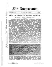 The Numismatist, Vol. 26 (1913)