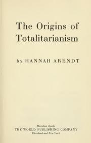 the origins of totalitarianism pdf
