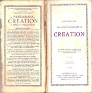 The photodrama of creation: charles taze russell: free download.