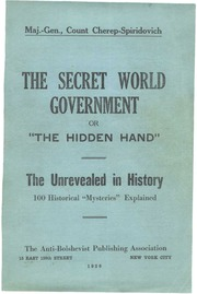 The Secret World Government or Hidden Hand : Cherep