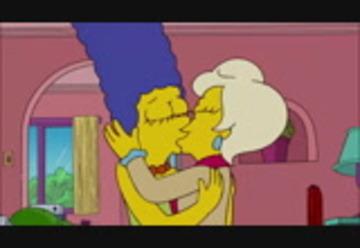 Marge Simpson lesbisk sex