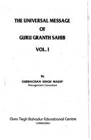 Community texts free books free texts free download borrow the universal message of guru granth sahib volume i fandeluxe Images