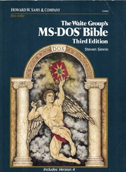 The Waite Group's MS-DOS bible : Simrin, Steven : Free