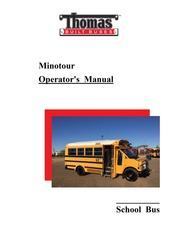 Thomas Minotour Operator's Manual : Thomas Built Buses, Inc ... on