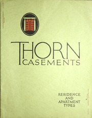 thorn residence casements catalog rc4 j s thorn co. Black Bedroom Furniture Sets. Home Design Ideas
